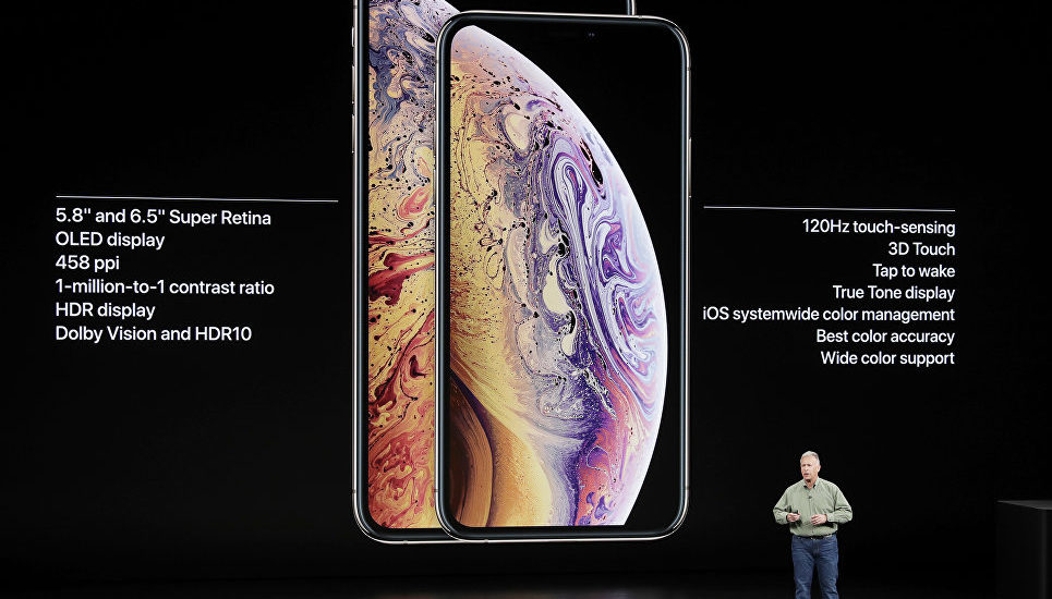 iPhone Xs, iPhone Xs Max иiPhone Xr.